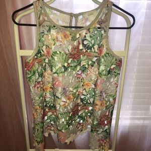 Anthropologie Inari Fiore sleeveless top